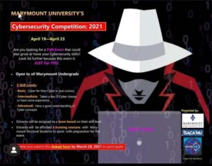 MUISG Update 2021 April 19th Event Flyer on Cybersecurity Competition